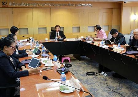 การประชุมคณะกรรมการพัฒนาระบบการประเมินคุณภาพการศึกษาด้านการอาชีวศึกษา (กพศ.) ครั้งที่ 4/2561
