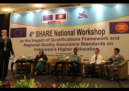 The Observation of the 4th SHARE National Workshop during 6 – 8 February 2017, Jakarta, Indonesia