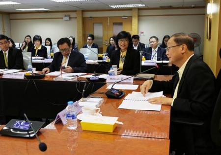 การประชุมคณะกรรมการพัฒนาระบบการประเมินคุณภาพการศึกษาระดับอุดมศึกษา (กพอ.) ครั้งที่ 7/2561