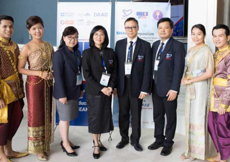 ONESQA in cooperation with OHEC and EU SHARE co-organized the SHARE Symposium on the Consequences of Regional Quality Assurance and Qualifications Framework on Higher Education in Thailand during August 31 - September 1, 2017 at the Pullman King Power Rangnam Hotel