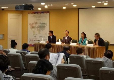 การเข้าร่วมประชุม HEEACT-APQN 2017 Global Summit หัวข้อ Regional Cooperation and Harmonization: ASEAN Countries and East Asia in Quality Assurance of Higher Education และการลงนามบันทึกความเข้าใจระหว่าง สมศ. และหน่วยงาน Higher Education Evaluation and Accreditation Council of Taiwan (HEEACT) ไต้หวัน