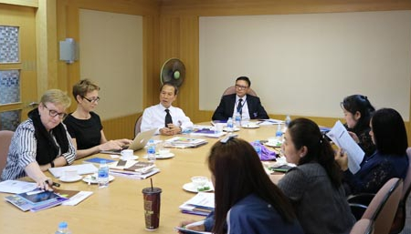 The Interview of the Quality Assurance Agencies to Create Understandings on Thai Quality Assurance System