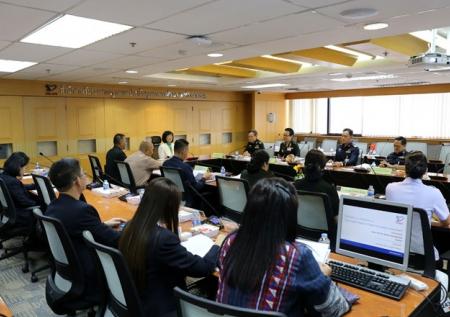 การประชุมชี้แจงแนวทางการประเมินคุณภาพภายนอกรอบสี่ สถาบันวิชาการป้องกันประเทศ และ สมศ.