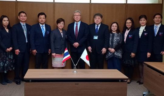 สมศ. เข้าร่วมการประชุมความร่วมมือกับหน่วยงานประกันคุณภาพของประเทศญี่ปุ่น (MEXT, JUAA, NIAD-QE) ณ กรุงโตเกียว ประเทศญี่ปุ่น